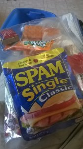 Enough spam to satisfy, not enough to gag you.