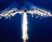 Firing Flares.